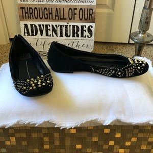 Dolce Vita Studded Suede Flats